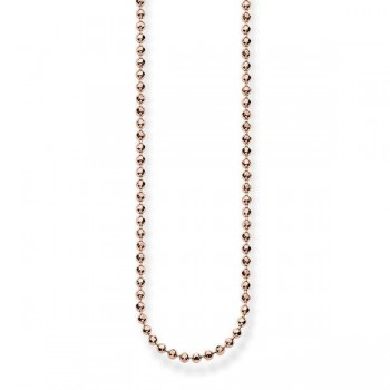Thomas Sabo ball chain Women Necklaces J_KE0016-618-12
