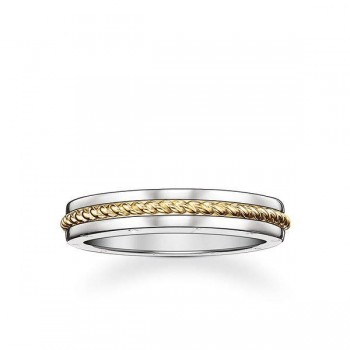 Thomas Sabo band ring rope Women Rings J_TR0017-659-12
