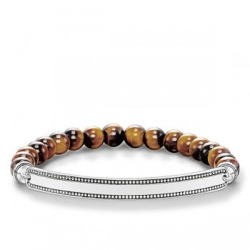 Thomas Sabo bracelet brown Women Bracelets LBA0016-826-2