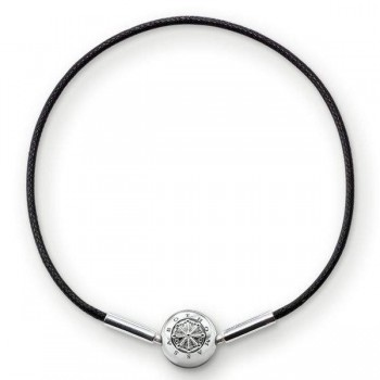 Thomas Sabo bracelet for Beads black Women Bracelets KA0003-653-11