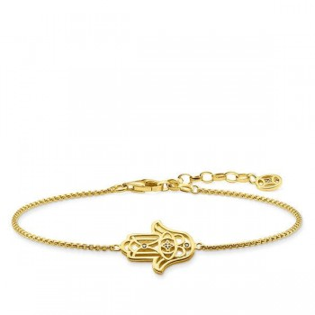 Thomas Sabo bracelet Hand of Fatima ornamentation Women Bracelets D_A0020-924-39