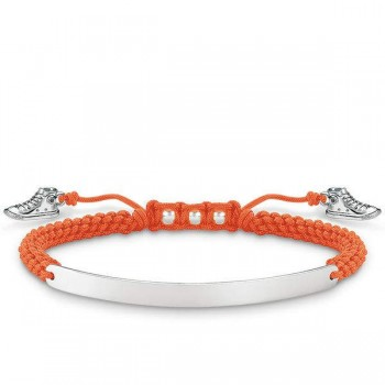 Thomas Sabo bracelet orange sneaker Women Bracelets LBA0064-173-8