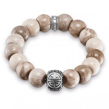 Thomas Sabo bracelet Power Bracelet brown ethnic Women Bracelets A1577-353-16