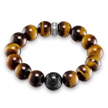 Thomas Sabo bracelet Power Bracelet brown Women Bracelets A1574-806-2