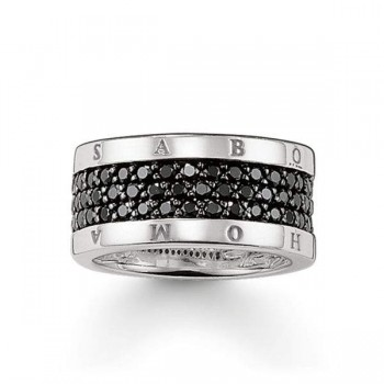 Thomas Sabo eternity ring classic black Women Rings TR1710-051-11