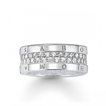 Thomas Sabo eternity ring classic white Women Rings TR1939-051-14