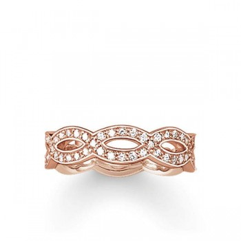 Thomas Sabo eternity ring Love Knot Women Rings TR1973-416-14
