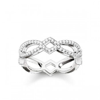 Thomas Sabo eternity ring Love Knot Women Rings TR2085-051-14