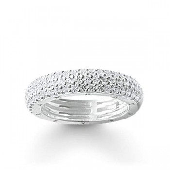 Thomas Sabo eternity ring white pavé Women Rings TR1777-051-14
