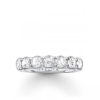Thomas Sabo eternity ring white Women Rings TR1955-051-14