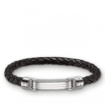 Thomas Sabo leather strap black Women Bracelets LB49-008-11