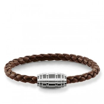 Thomas Sabo leather strap Men Bracelets UB0019-823-2