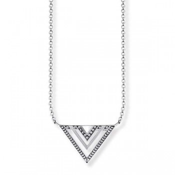 Thomas Sabo necklace Africa triangle Women Necklaces KE1568-637-21