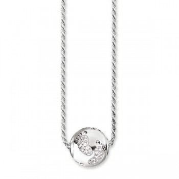 Thomas Sabo necklace baby footprint Women Necklaces KT0129-051-14