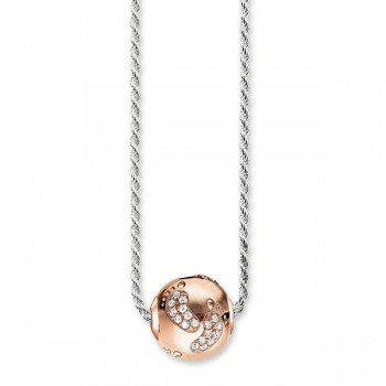 Thomas Sabo necklace baby footprint Women Necklaces KT0130-416-14