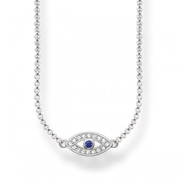 Thomas Sabo necklace blue nazar eye Women Necklaces KE1385-412-32