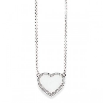 Thomas Sabo necklace heart pavé Women Necklaces KE1479-051-14