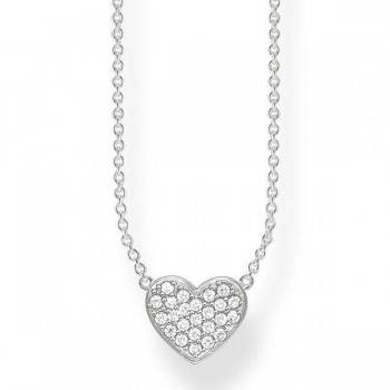 Thomas Sabo necklace heart pavé Women Necklaces KE1547-051-14