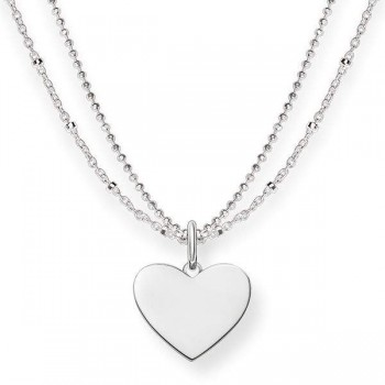 Thomas Sabo necklace heart Women Necklaces LBKE0004-001-12