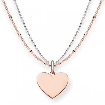 Thomas Sabo necklace heart Women Necklaces LBKE0004-415-12