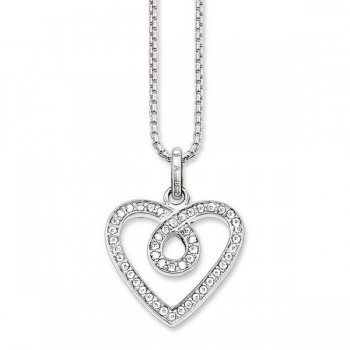 Thomas Sabo necklace infinity heart Women Necklaces SET0139-051-14