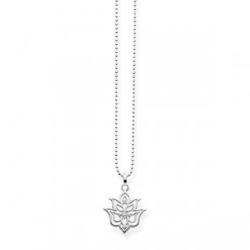 Thomas Sabo necklace Lotus flower ornamentation Women Necklaces D_KE0016-725-21