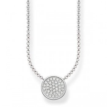 Thomas Sabo necklace Sparkling Circles Women Necklaces KE1491-051-14