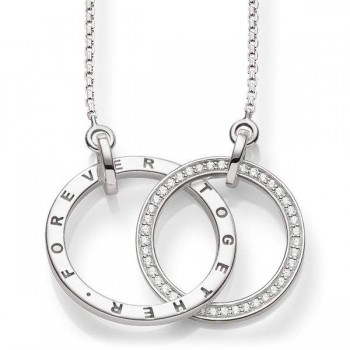Thomas Sabo necklace TOGETHER FOREVER Women Necklaces KE1489-051-14