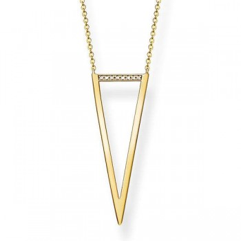 Thomas Sabo necklace triangle Women Necklaces D_KE0008-924-14