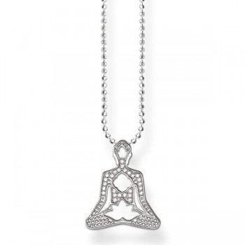 Thomas Sabo necklace yoga lotus position Women Necklaces KE1546-051-14