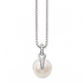 Thomas Sabo pearl necklace Women Necklaces SET0184-167-14