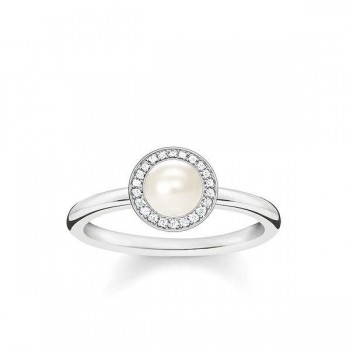 Thomas Sabo pearl ring Women Rings D_TR0007-765-14