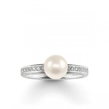 Thomas Sabo pearl ring Women Rings TR1986-167-14