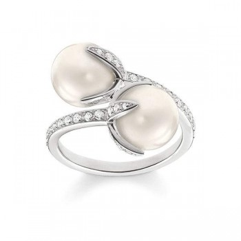 Thomas Sabo pearl ring Women Rings TR2079-167-14