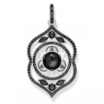 Thomas Sabo pendant black third-eye chakra Women Pendants J_PE0027-729-11