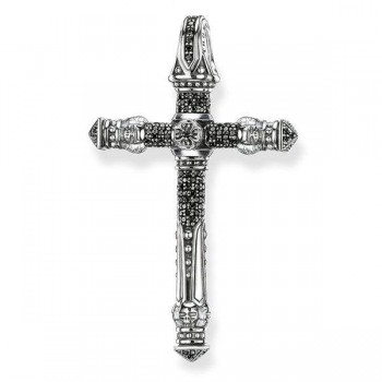 Thomas Sabo pendant diamond cross Women Pendants J_PE0025-714-11