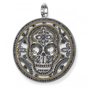 Thomas Sabo pendant diamond skull Women Pendants J_PE0021-723-11