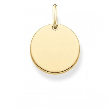 Thomas Sabo pendant disc Women Pendants LBPE0001-413-12