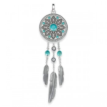 Thomas Sabo pendant ethno dreamcatcher Women Pendants PE711-646-17