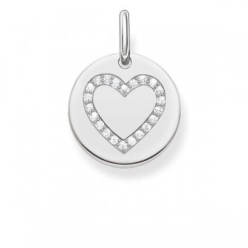 Thomas Sabo pendant heart disc Women Pendants LBPE0005-051-14