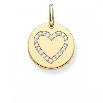 Thomas Sabo pendant heart disc Women Pendants LBPE0005-414-14