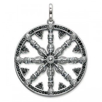 Thomas Sabo pendant Karma Wheel pavé Women Pendants PE668-051-11