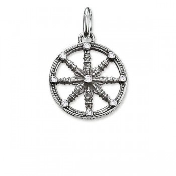 Thomas Sabo pendant Karma Wheel small Women Pendants KC0001-643-14