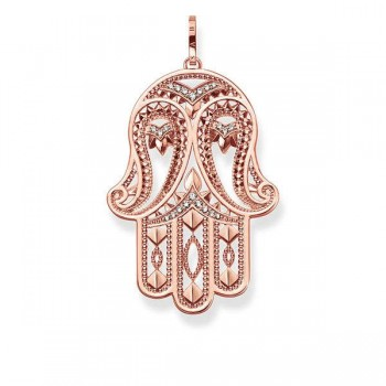 Thomas Sabo pendant paisley-design hand of Fatima Women Pendants PE731-416-14