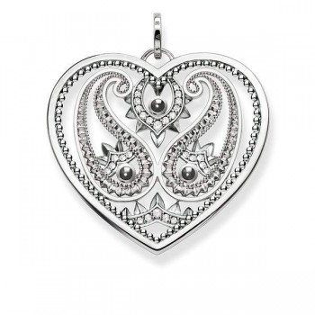 Thomas Sabo pendant paisley-design heart Women Pendants PE727-645-24