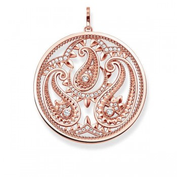 Thomas Sabo pendant paisley design Women Pendants PE728-416-14