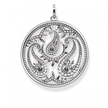 Thomas Sabo pendant paisley design Women Pendants PE728-645-24