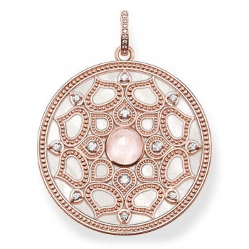 Thomas Sabo pendant pink lotus Women Pendants J_PE0010-754-9
