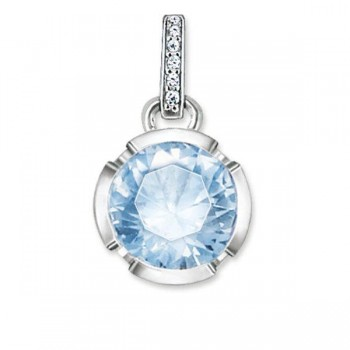 Thomas Sabo pendant Signature Line light blue Women Pendants PE689-059-31