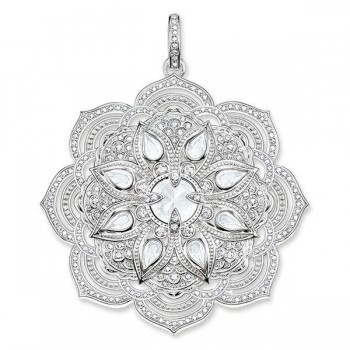 Thomas Sabo pendant white lotus flower Women Pendants PE694-690-14
